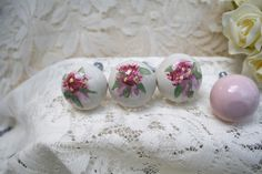 The Polka Dot Closet: Decorating Polymer Clay Cabinet Knobs