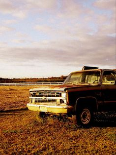 Old Chevy truck in Pungo