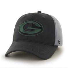 Green Bay Packers Feldspar Closer Dark Gray 47 Brand Stretch Fit Hat 73f90b4a7