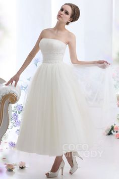 90dec3964c61 77+ Strapless Tulle Wedding Dress - Cute Dresses for A Wedding Check more  at http