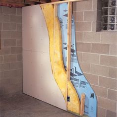 Ideas Insulating Basement Wall: How To Finish A Foundation Of Basement Wall  Quakerrose