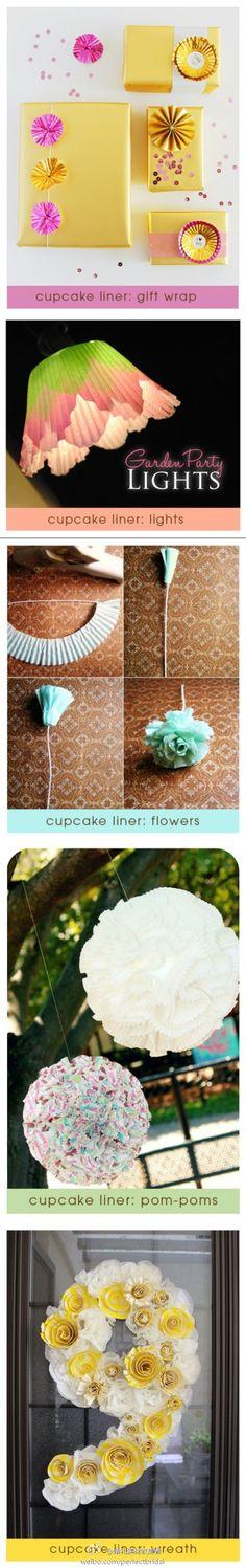 cupcake liner diy