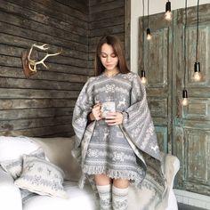 Womens poncho cape wrap cardigan outerwear FREE by WannabeDecor