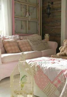 Living shabby chic style