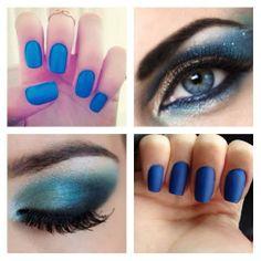 Combo azul royal ♥