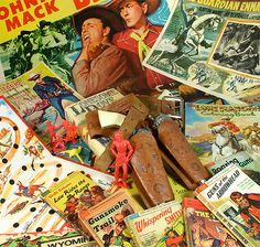 Vintage Pop Culture from the Old West via Cool & Collected