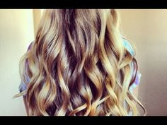 Curls With No Heat - 5 Minutes!