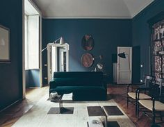 A home in Milan designed by Britt Moran and Emiliano Salci of Dimore Studio.