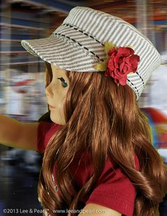 L&P 1006: Patrol Cap Pattern for 18 Inch Dolls par leeandpearl