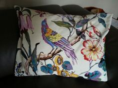 Velvet Mauritius cushions. Reminds me of my honeymoon!