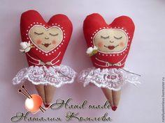 Купить Сердечки девочки валентинки - День Святого Валентина, День всех влюбленных: