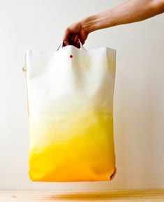 ombre bag (but the handle looks rather impractical)
