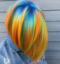 is the artist. Pulp Riot the paint. is the artist. Pulp Riot the paint. Pulp Riot Hair Color, Vivid Hair Color, Hair Dye Colors, Cool Hair Color, Creative Hair Color, Rainbow Hair, Ombre Hair, Blonde Hair, Dark Hair