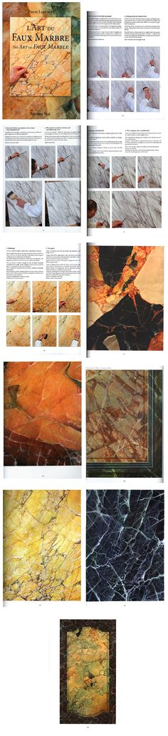 Pierre Lefumat's amazing book on faux marble