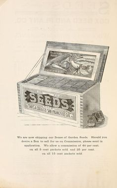 Cox's seed annual