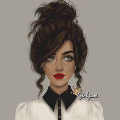 #sketchbookpro  #سمراء ❤️❤️ #girly_m