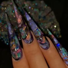 Nail Swag, Perfect Nails, Gorgeous Nails, Sculpted Gel Nails, Long Stiletto Nails, Exotic Nails, Aycrlic Nails, Fire Nails, Clear Nails