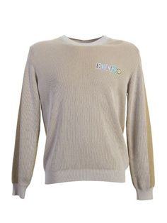 KENZO Kenzo Grey Cotton Sweater. #kenzo #cloth #sweaters | Kenzo ...
