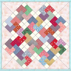 """Aunt Grace Reproduction Cards 12 Pre-Cut Quilt Kit 8"""" Blocks SALE"""