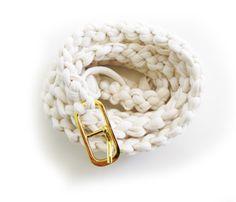 Handmade Thin Cotton Belt