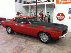 1970 Plymouth Barracuda AAR - Barrett-Jackson auction (sold, $88,000, Jan 2013)