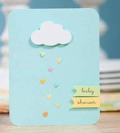 cute card-baby shower tarjeta de invitacion ♛