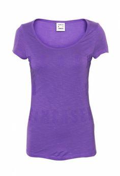 Karen By Simonsen Helene Tee Prism Violet - T-shirts - MaMilla