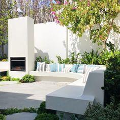 Small Courtyard Gardens, Small Courtyards, Courtyard Design, Garden Design, Deck Design, Plant Design, Outdoor Gardens, Outdoor Seating, Outdoor Spaces