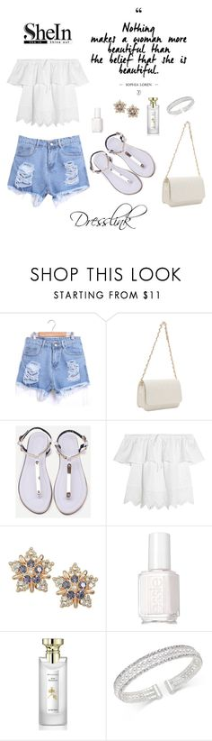 """"""":)"""" by arijanagetos55 ❤ liked on Polyvore featuring Madewell, Essie, Bulgari and INC International Concepts"""