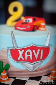 Cars Cake - Lightning McQueen Cake - Torta de Cars - Torta de Rayo McQueen