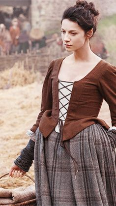 Claire's Brown Jacket 2 from Outlander