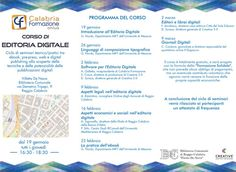 Il programma completo del Corso di Editoria Digitale