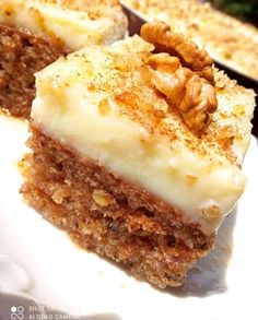 Greek Cake, Greek Sweets, Pie, Pudding, Ethnic Recipes, Desserts, Food, Bakken, Torte