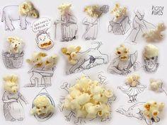 Des objets inclus dans des dessins d