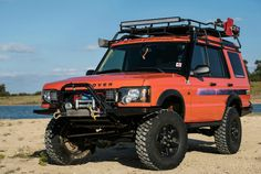 Originally commissioned for the G4 Challenge, the successor to the Camel Trophy, this 2004 Land Rover Discovery is only one of 200 G4 Editions. Seen at: https://gearpatrol.com/2018/03/14
