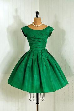 Dress 1950s Timeless Vixen Vintage