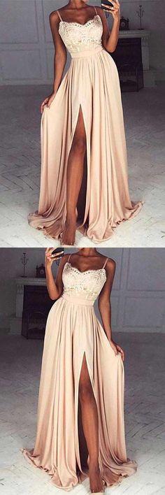 Cheap Prom Dress #CheapPromDress, Long Prom Dress #LongPromDress, Chiffon Prom Dress #ChiffonPromDress, Prom Dress A-Line #PromDressALine, Prom Dress Lace #PromDressLace, Prom Dresses Long #PromDressesLong