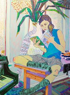 Hope Gangloff  'Couch Surfer', 2015.