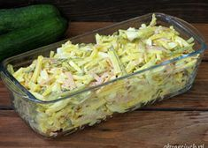Fruit Snacks, Potato Salad, Zucchini, Cabbage, Grilling, Salads, Dessert Recipes, Food And Drink, Appetizers