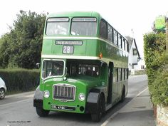 Southern Vectis bus traveled many times  on it round the Isle of Wight