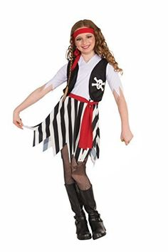 Our disney cruise pirate night costumes happy halloween cruises buccaneer costume for girls dress with attached vest and belt boots not included child solutioingenieria Gallery