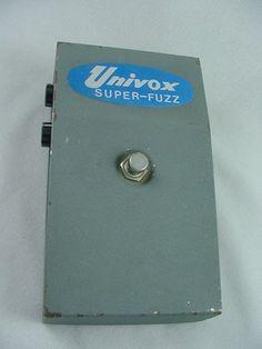 Vintage 1960's Univox Super Fuzz Guitar Effect Pedal