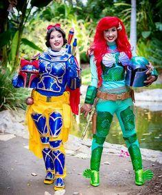 Disney Princess Snow White and Little Mermaid Boba Fett