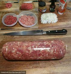 Home made hamburger meat Created with Glue http://goo.gl/e7YvFQ