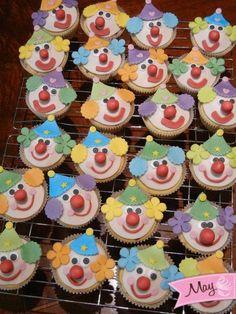 clown muffins - Cake by Marica