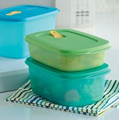 A guide to sizes of Tupperware Modular Mate containers for the pantry