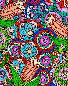 Colored (mix media) by Joelene