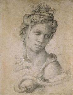 Miguel Ángel Buonarroti - Cleopatra (69-30 BC)