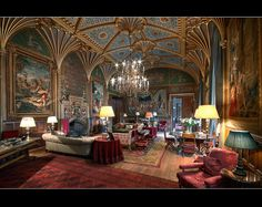 Gothic Drawing Room