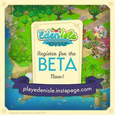 Social Media Beta marketing for Eden Isle